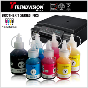Dye & Pigment Inks For Brother T Series Printers