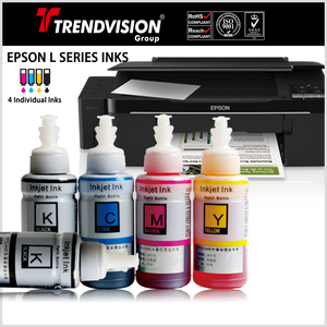 Dye & Pigment Inks For Epson L Series