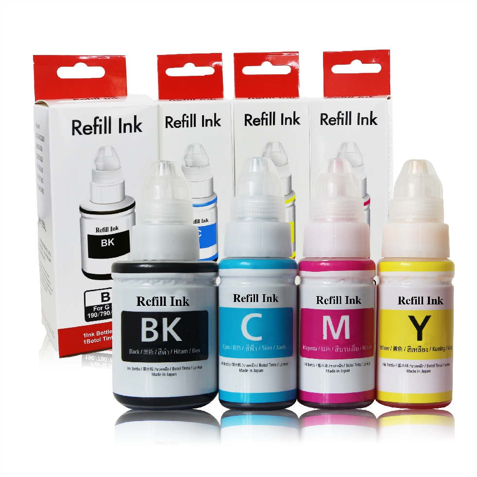 Dye Pigment Inks For Canon G Series Printers Trendvision Group Tinta Ori Gi 790 Black Share To